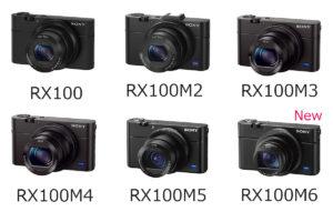 SONYがRX100M6を発表!新規格レンズがすごい!RX100,M2,M3,M4,M5とどこが違うの?