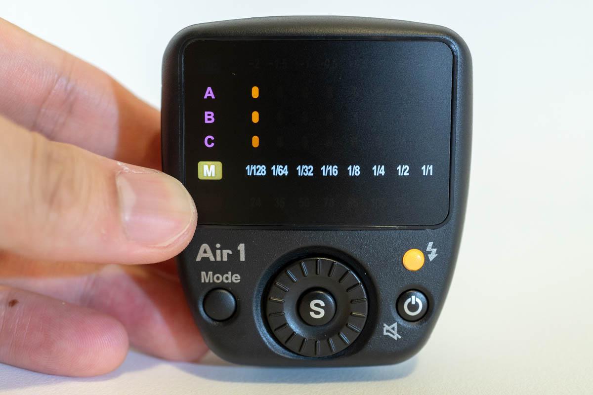 Air1 - Mモード