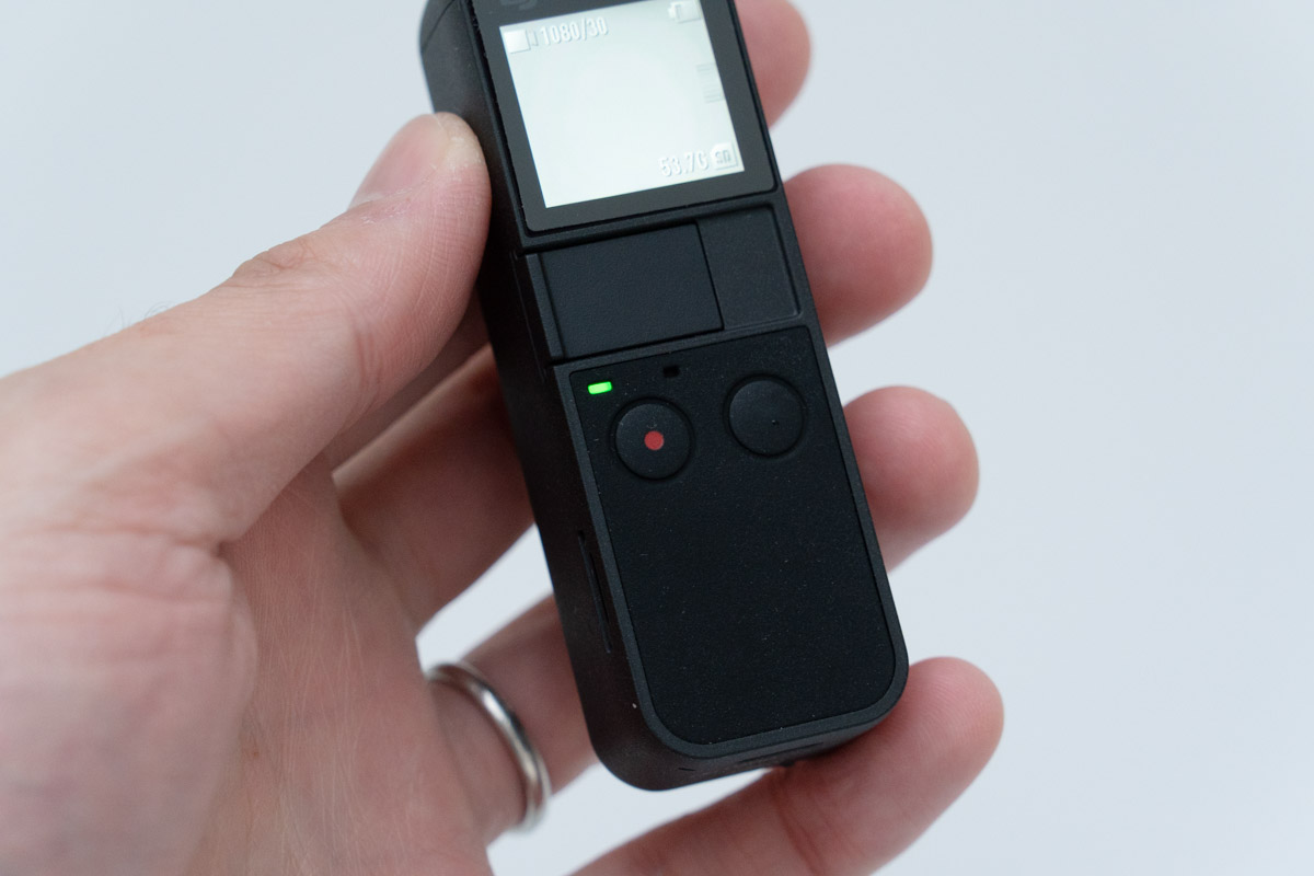 DJI OSMO Pocketの外観