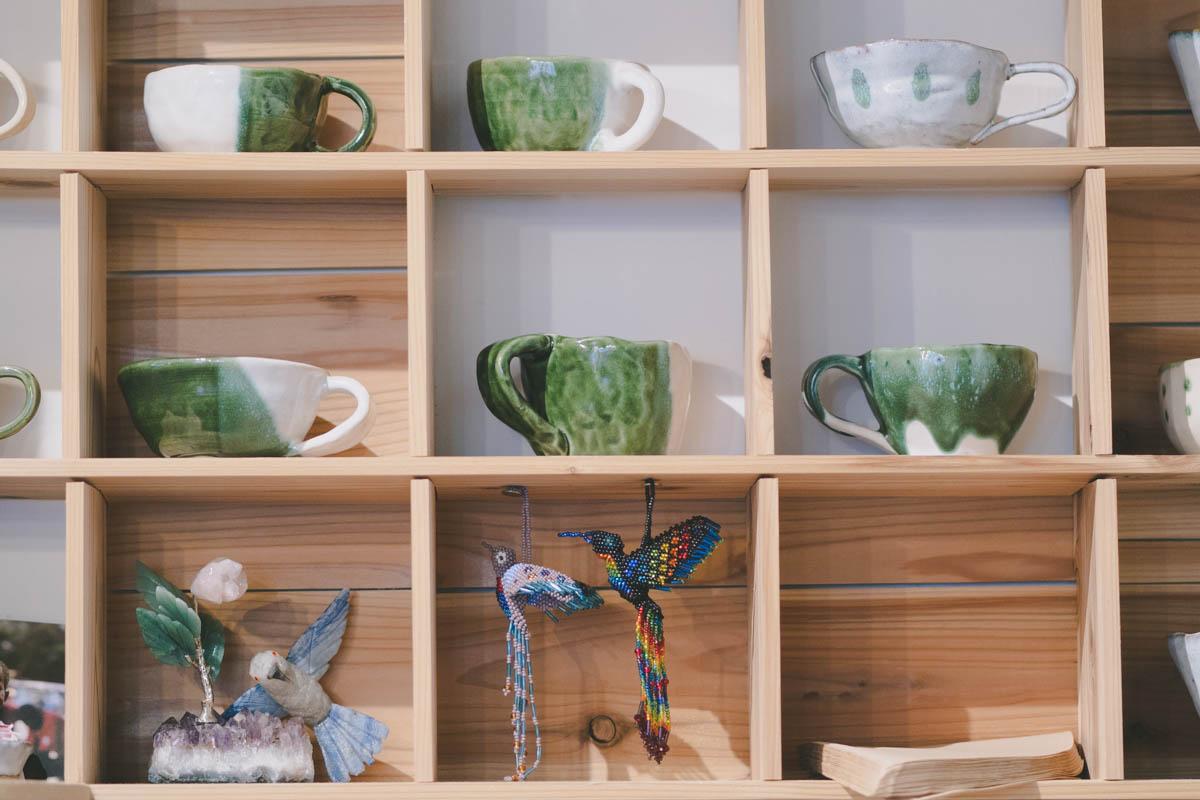 ハチドリ舎のコーヒーカップ