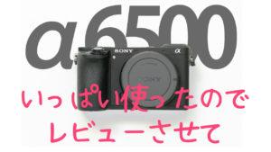 『α6500』レビュー。お気軽に使えて、本気の撮影にも応えてくれるカメラ。
