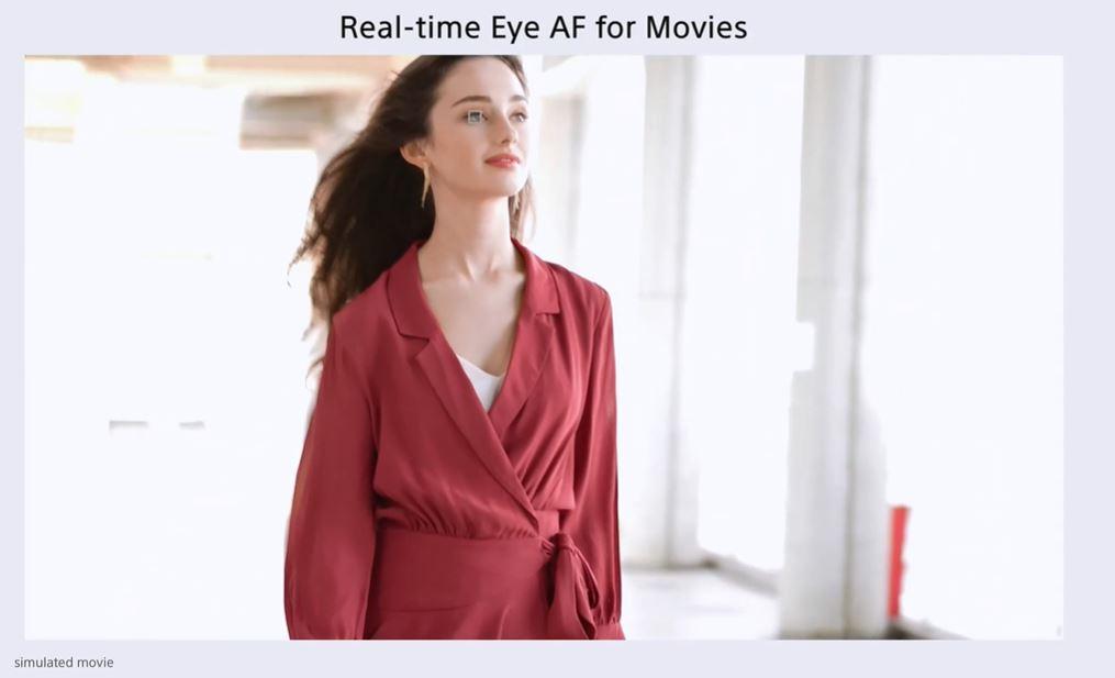 動画用瞳AF