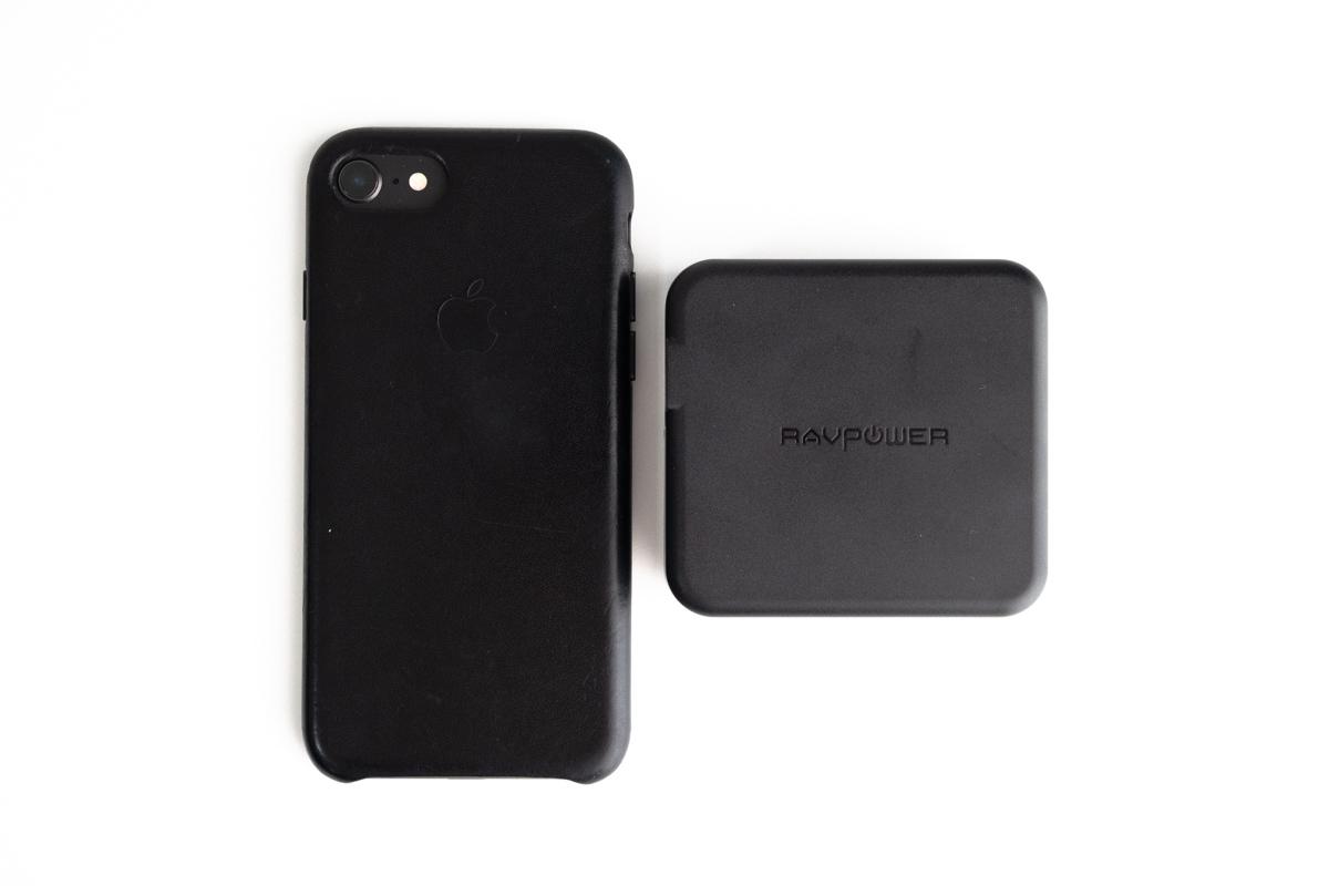iPhone8との大きさ比較