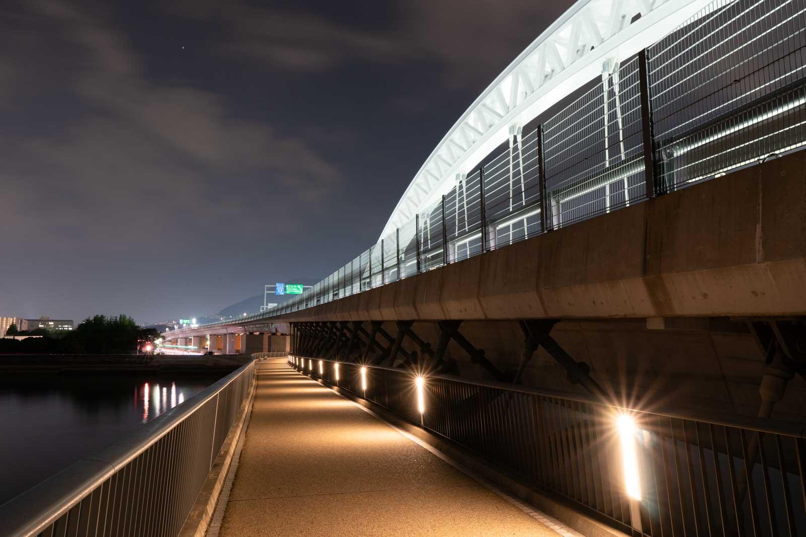 太田川大橋(観音側)