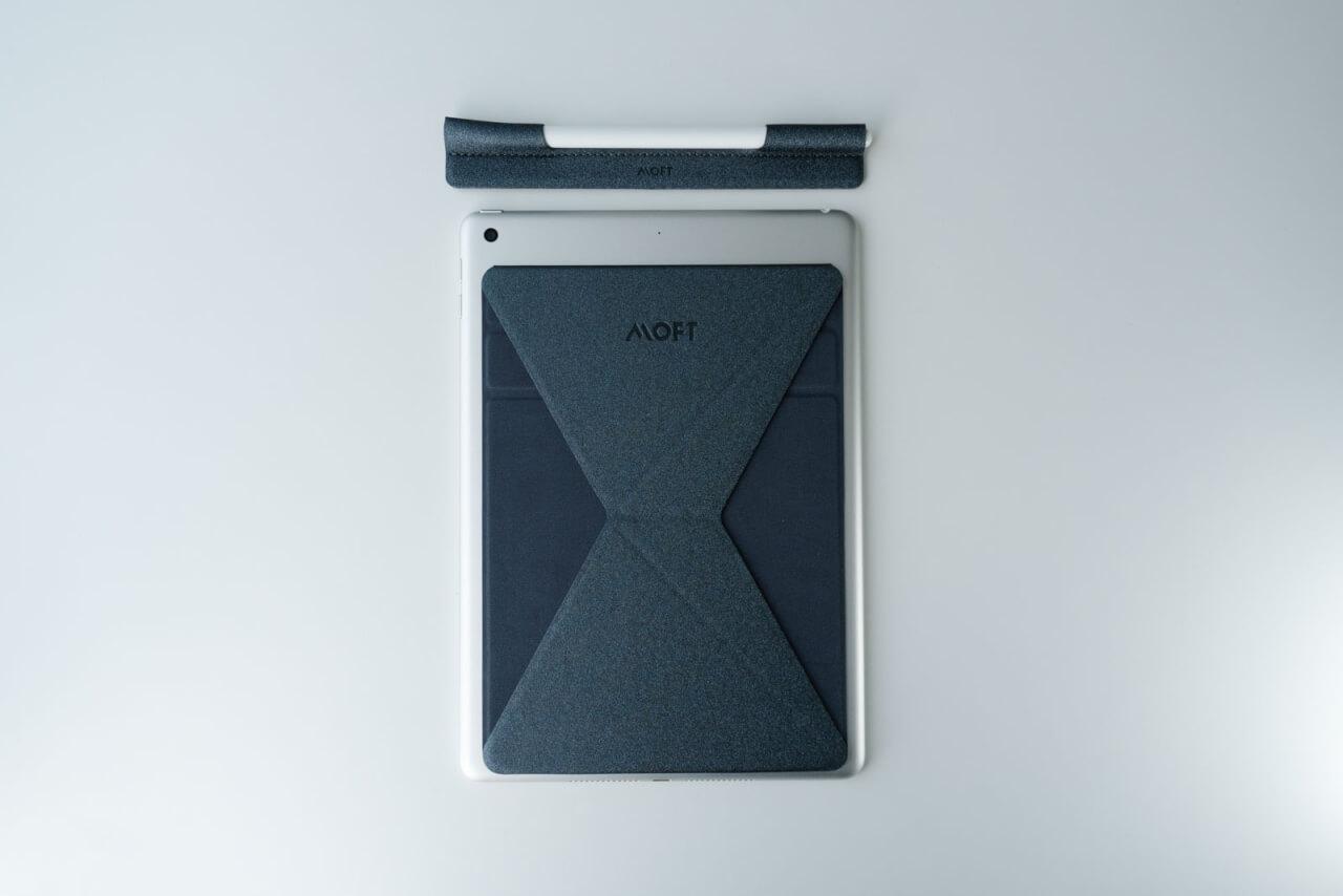 iPadとApple PencilにMOFT Xを取り付けてみた