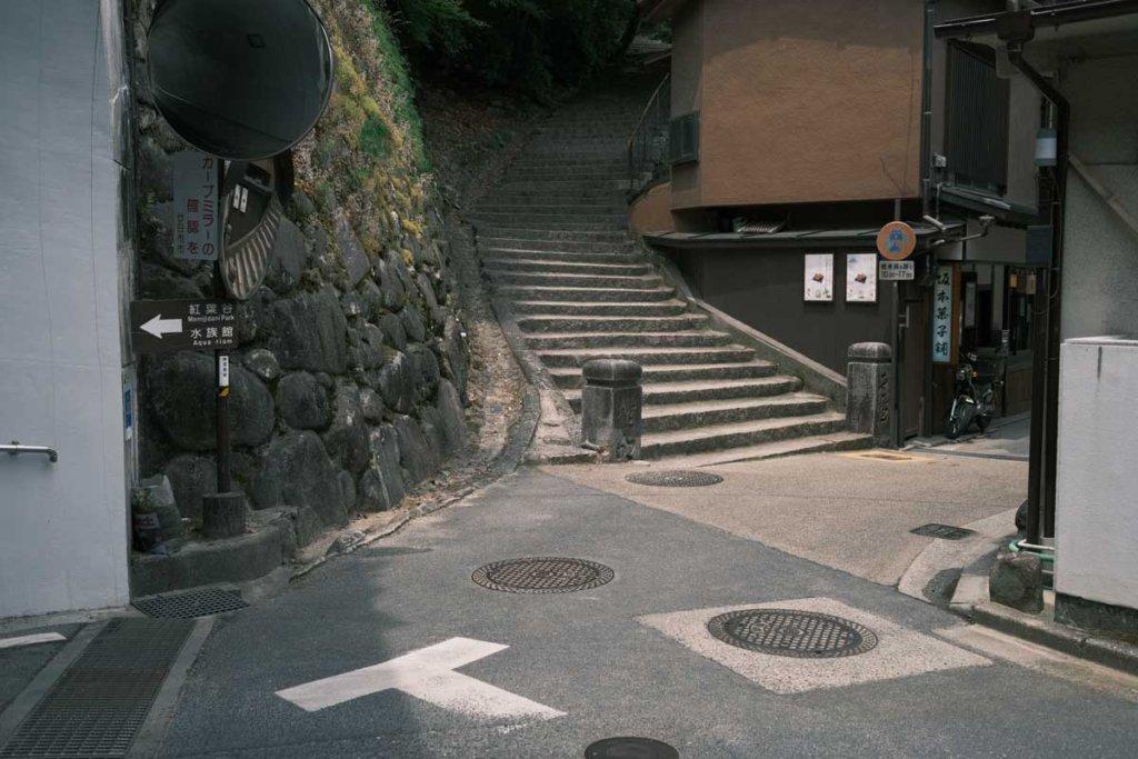 宮島の路地