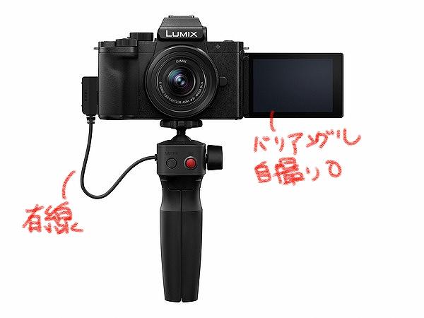 Panasonic LUMIX G100ってこんなカメラ