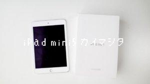 iPad mini(第5世代)を買いました。iPad 9.7(第6世代)から買い替えた理由とか。