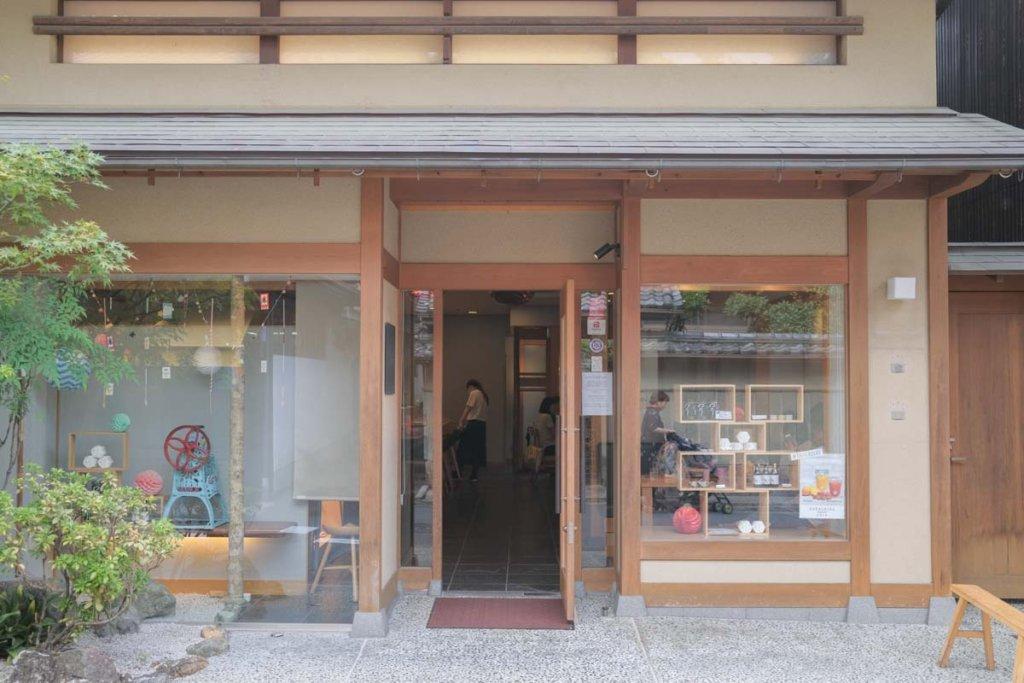 CAFE HAYASHIYA(カフェ ハヤシヤ)の店舗入り口