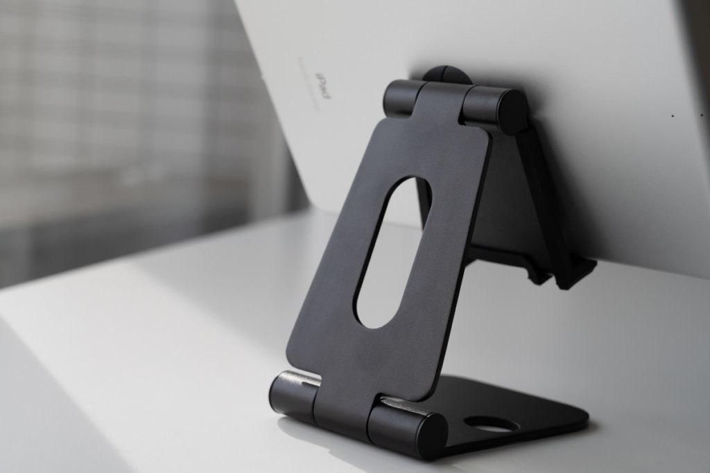 Nulaxy iPad タブレットスタンドの背面画像